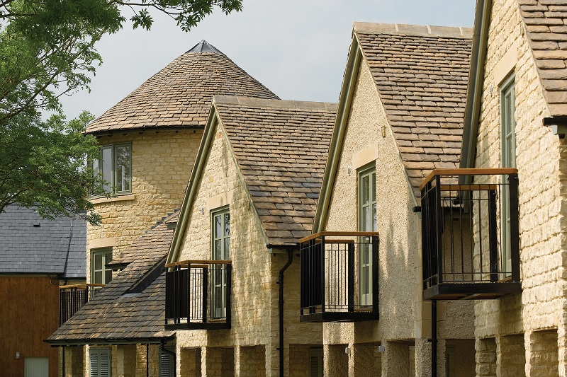 Bradstone Roofing's Reconstituted Stone Roofing