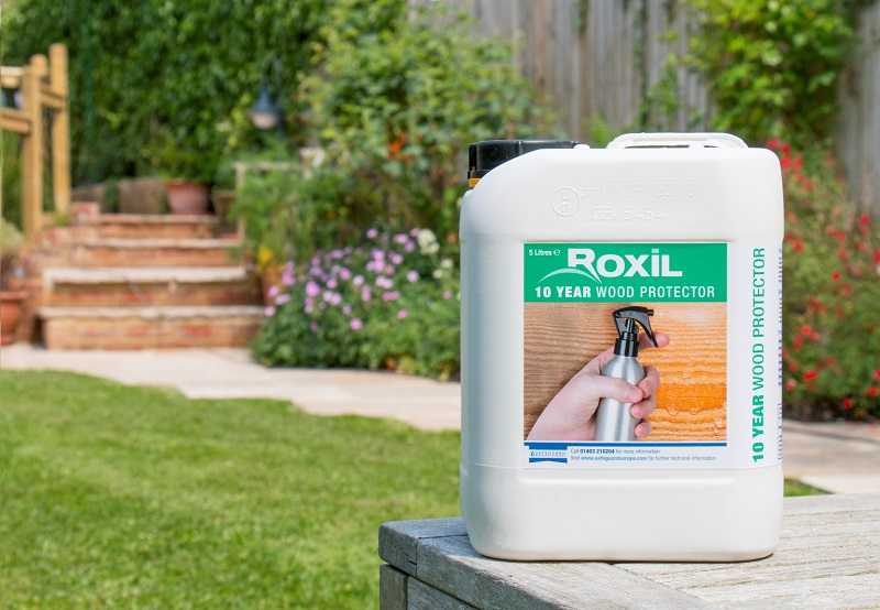 Waterproofing Wood With Safeguard Roxil