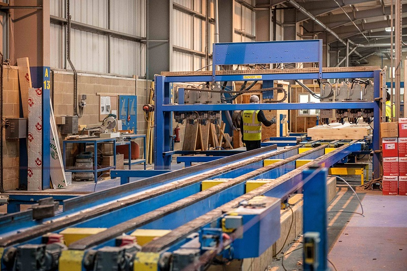 Offsite Construction Factory Tours with Stewart Milne Timber Systems