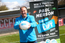 London football clubs given chance to win Merse training session