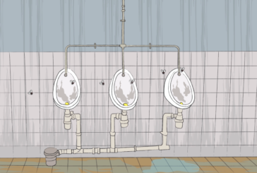 Waterless urinals must become more widespread for infection control and the planet