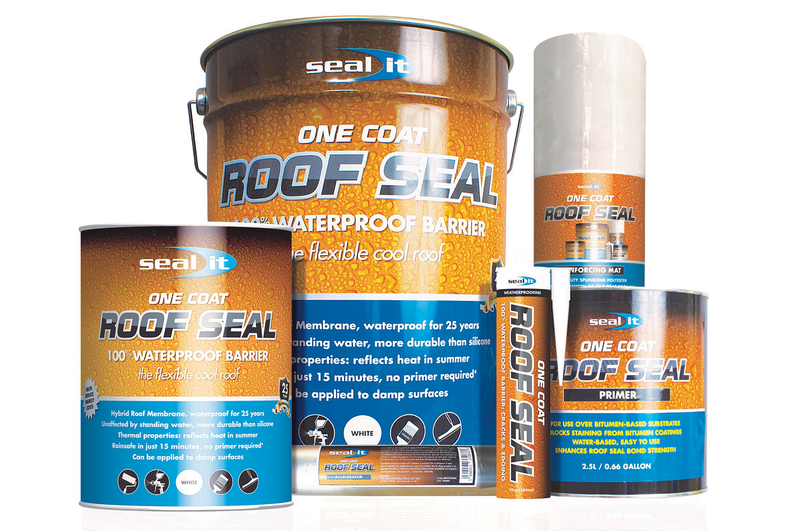Bond It's next generation hybrid roofing membrane Seal It