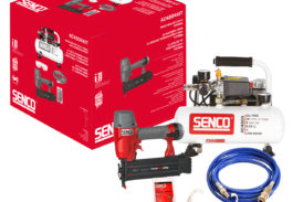 Senco's low noise compressor is music to your ears!