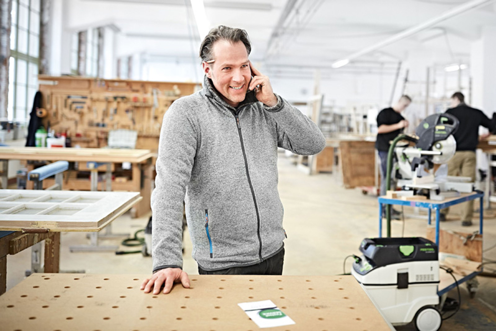 Tool talk with Festool: post-purchase care