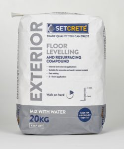 Setcrete launches floor levelling compound for outdoor - Exterior floor levelling compound ...