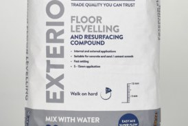 Setcrete launches floor levelling compound for outdoor areas