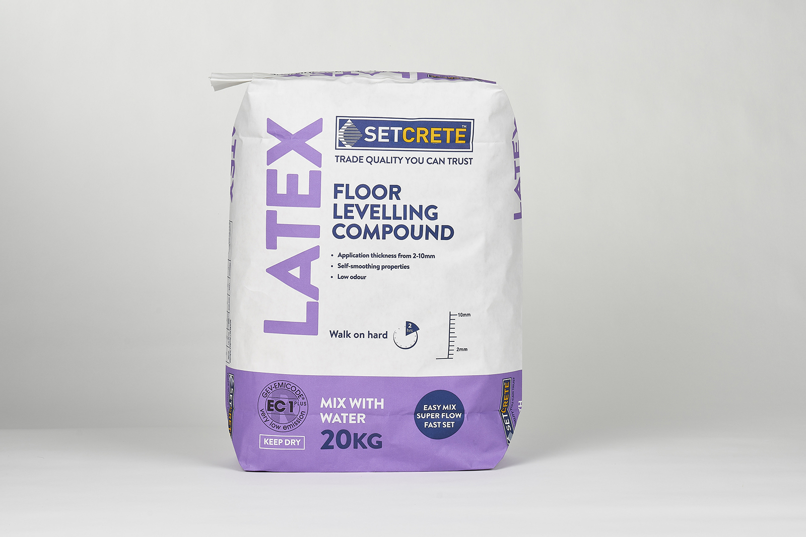 Setcrete Latex proves popular choice for builders