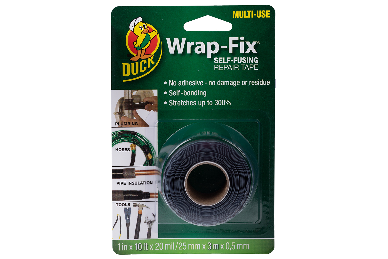 25 rolls of Duck Wrap-Fix to win!