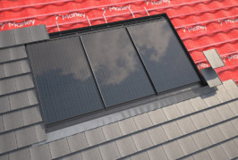 Integrated PV system from Marley