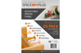 WIN: 10 packs of Space-Plug fixings