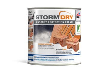Win a tub of Stormdry Masonry Protection Cream