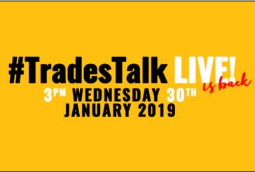 #TradesTalk Live returns in 2019