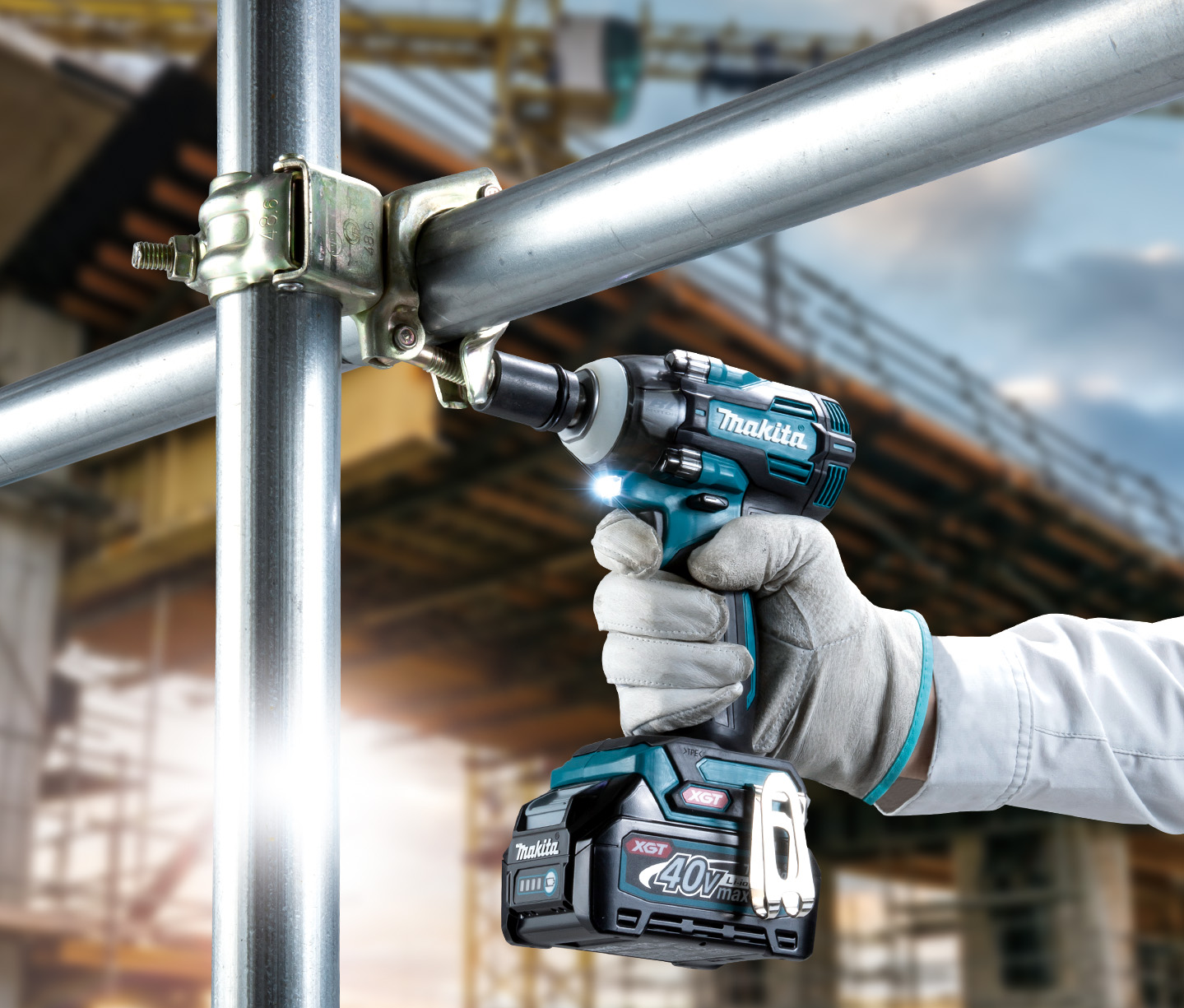 Makita makes an impact with new XGT machine