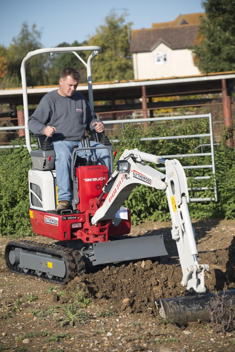 Takeuchi's TB210R Micro-Excavator
