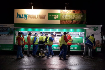 Successful end to Knauf Insulation roadshow