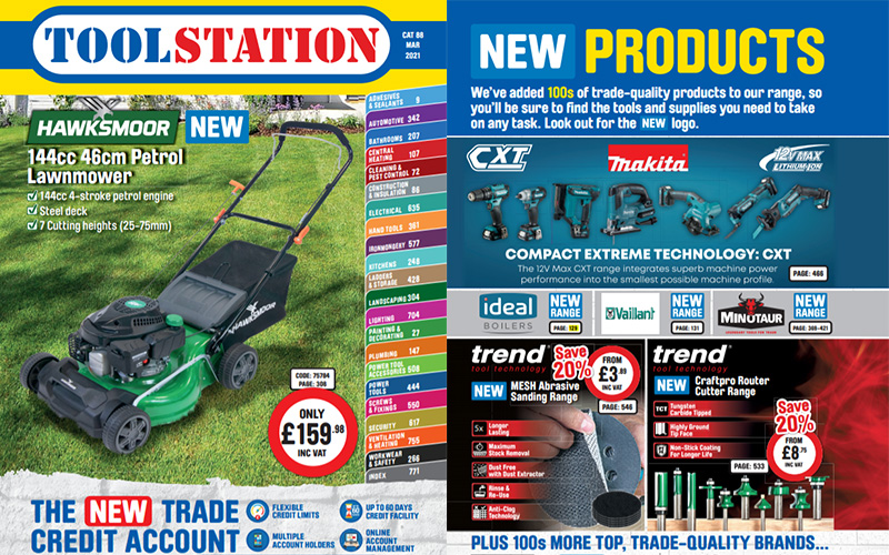 Toolstation launches new catalogue with over 750 new products for trades
