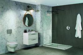 Installing Bushboard Nuance bathroom panels