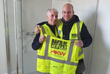 AKW Helps Band of Builder's Change Another Tradesman's Life