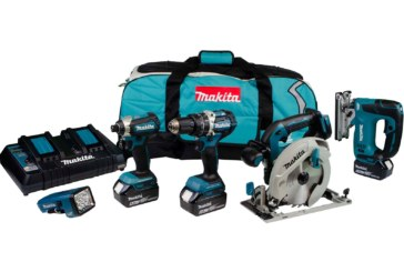 Makita 18v LXT 5-piece brushless kits