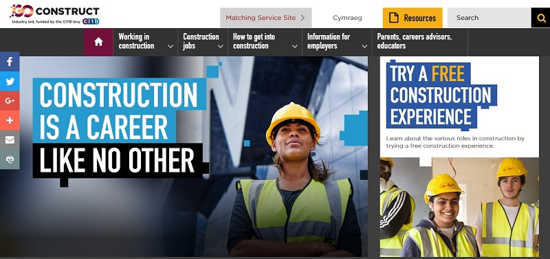 Construction Careers Website Wins Top Award