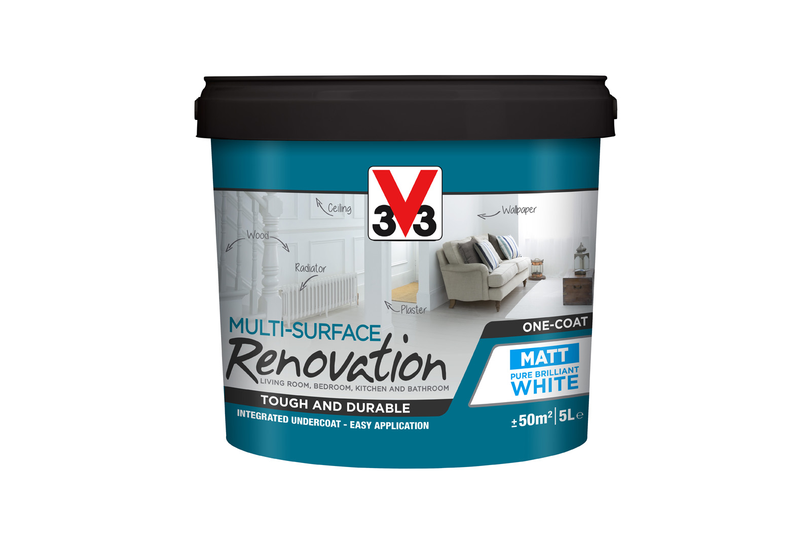 15 tubs of V33 Multi-Surface paint to win
