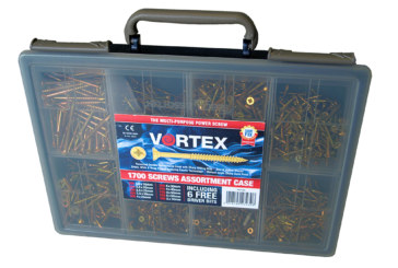 5 Vortex Screw Assortment Cases up for grabs!