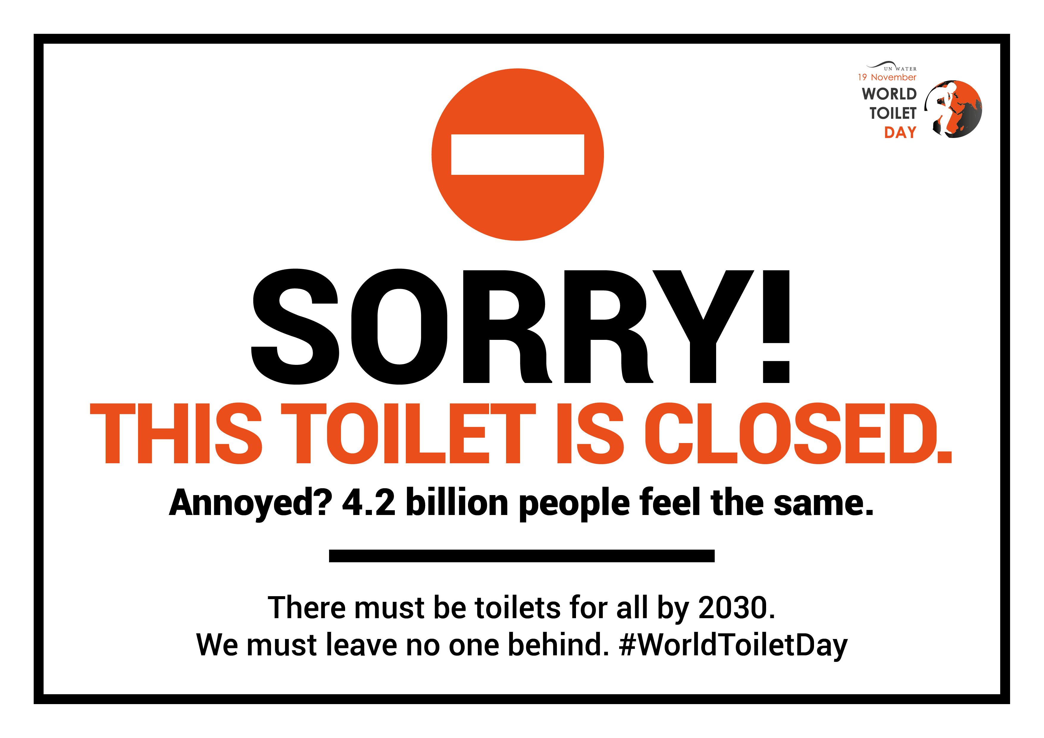 World Toilet Day: 19th November