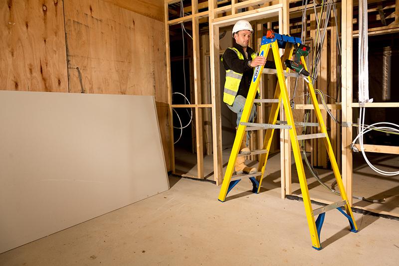 The benefits of a fibreglass ladder