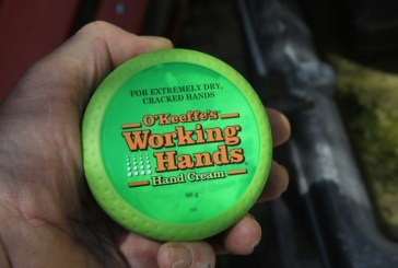 Safe Pair of Hands: Roger Bisby Finds an Answer in O'Keeffe's Working Hands Cream