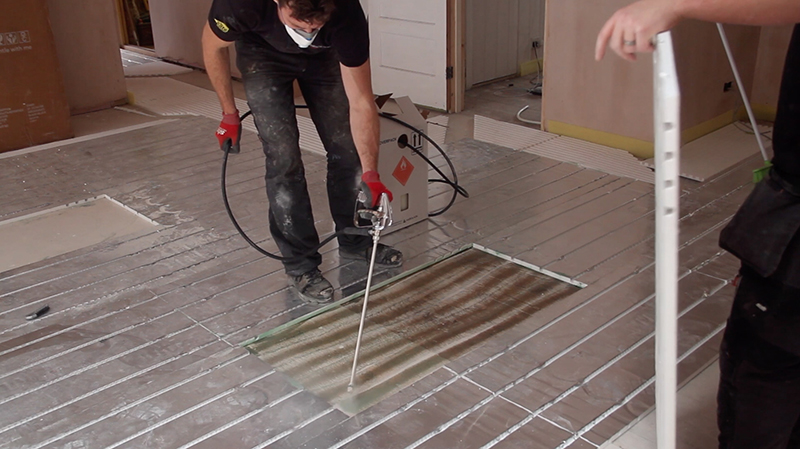 Over-floor heating from Wundatherm