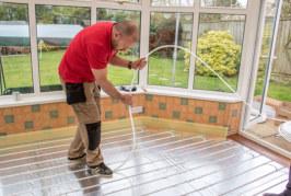 Installing Wundatherm underfloor heating