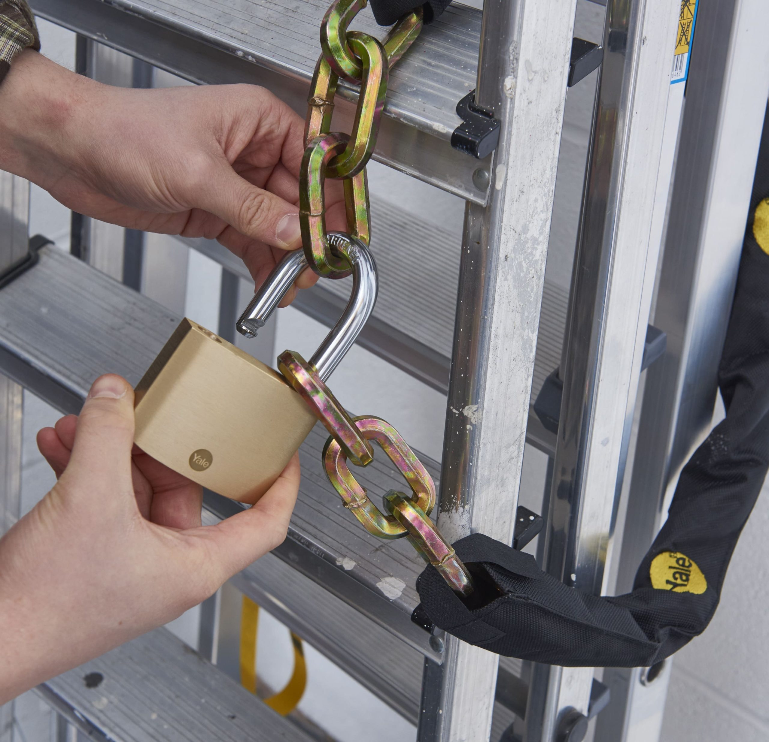 Yale's top tips on protecting your tools from theft