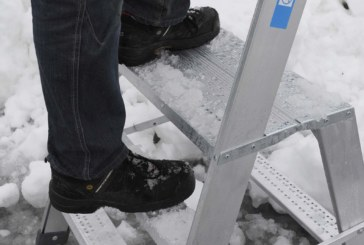 Zarges Ladders: Working in Winter
