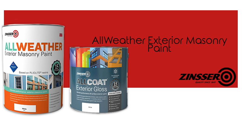Zinsser Exterior Paint