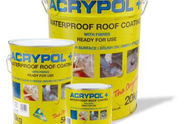 Waterproof coating Acrypol+ for flat roofs