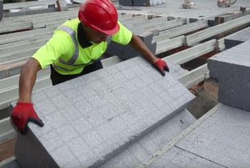 Concrete structural topping