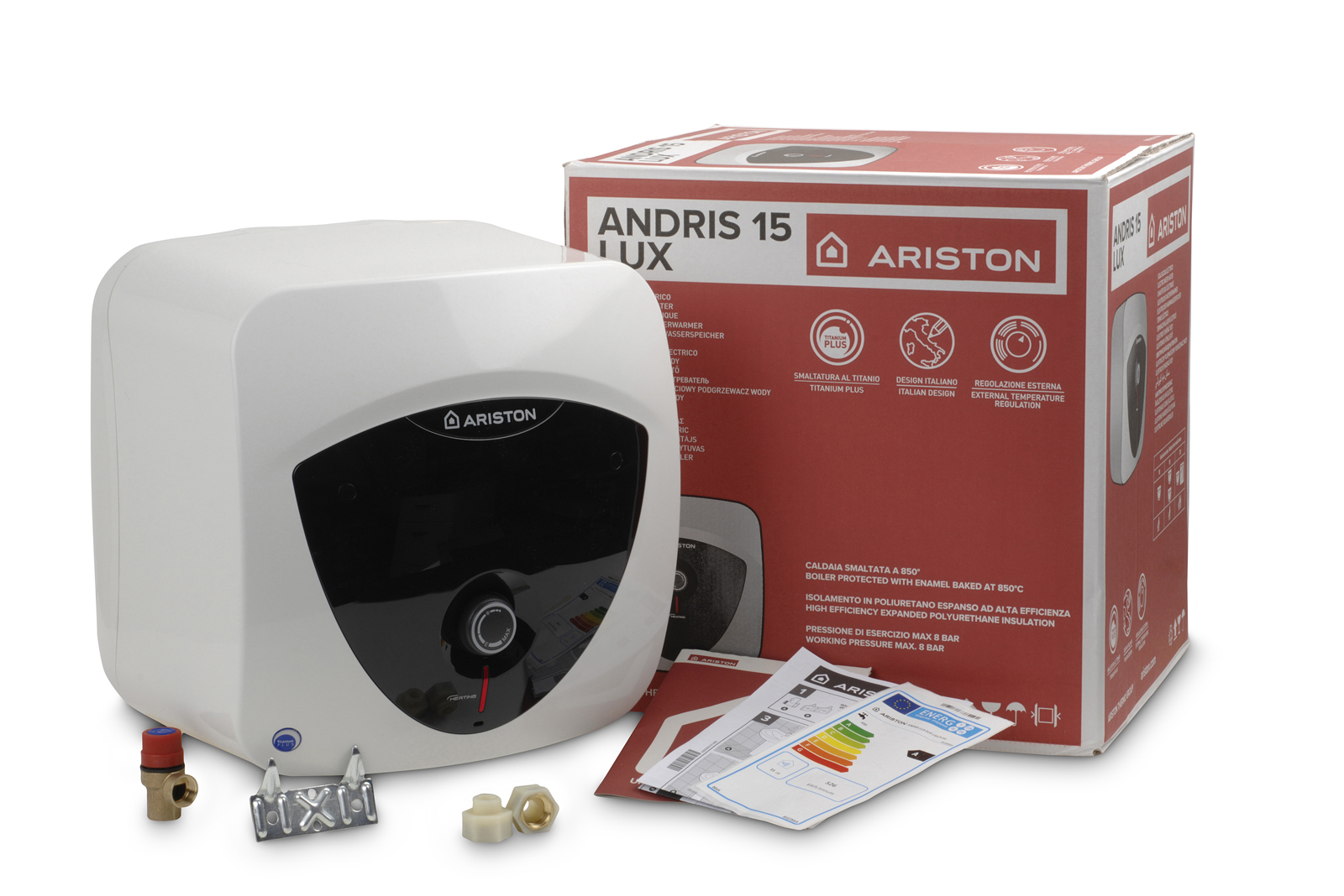 Ariston's new unvented electric water heater