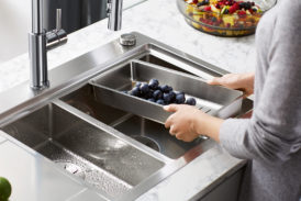 BLANCO's DIVON - the perfect stainless steel model for today's busy kitchen