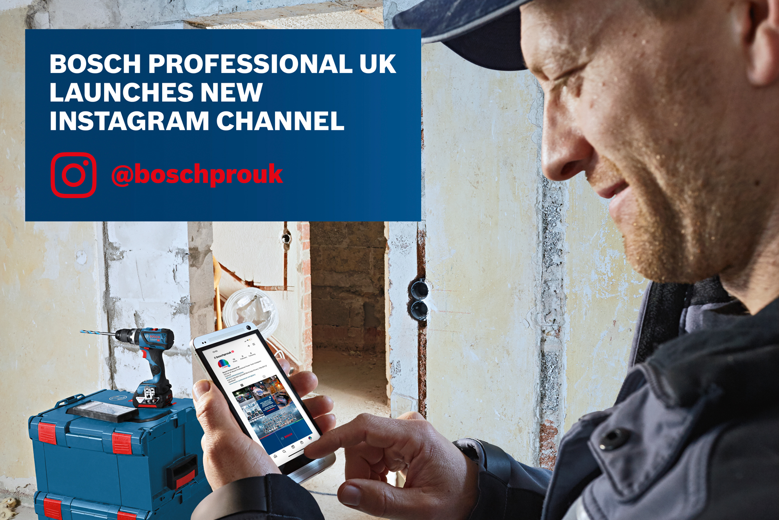 Bosch Professional UK launches new Instagram channel