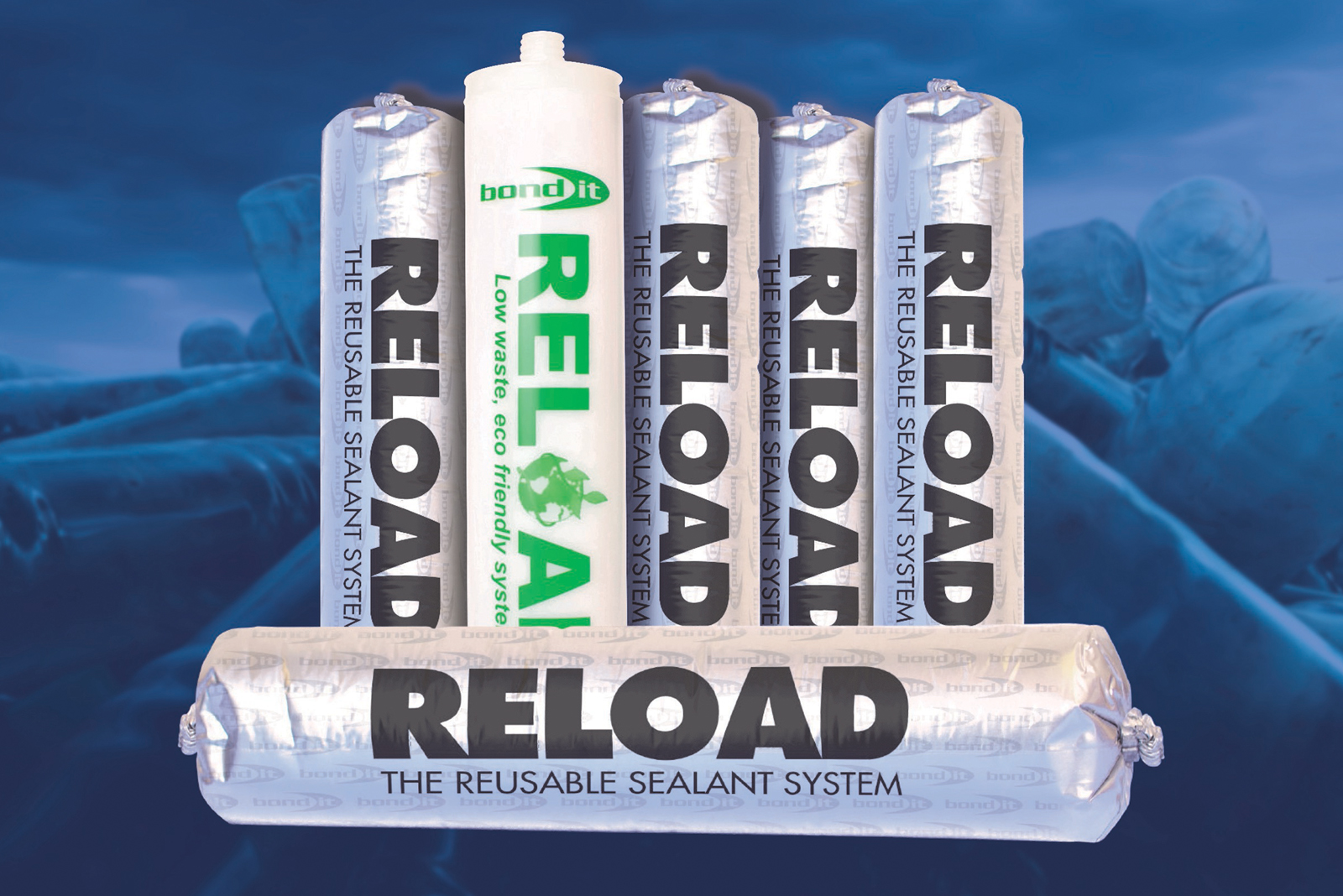 Bond It's new refillable sealant system