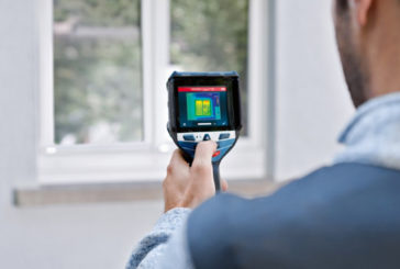 Measure surface temperatures even more precisely: Bosch GTC 600 C Professional thermal camera