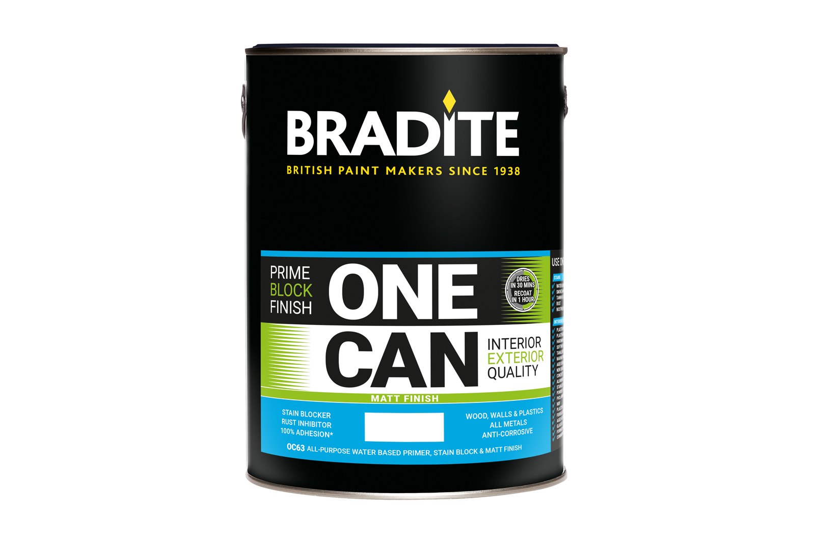 10 Bradite paint cans to win