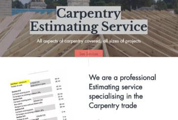 Carpentry Estimator: a new concept in trade specific estimating
