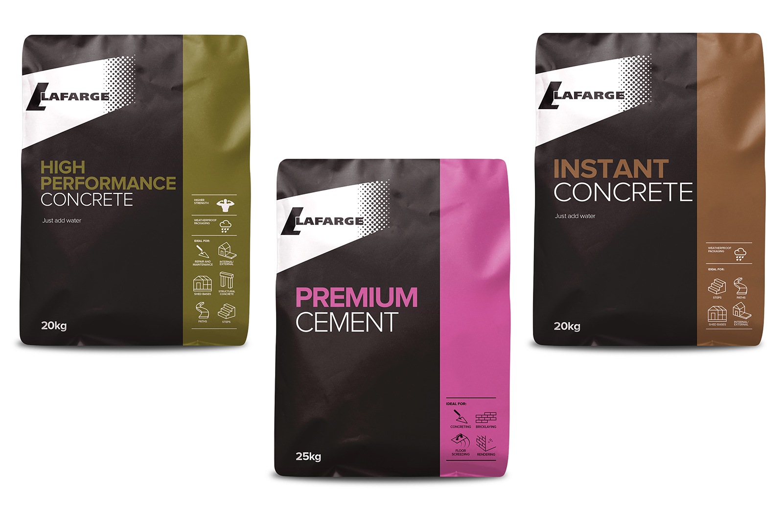 The choices available to the trades in cement