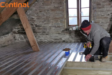 Continal's top tips for underfloor heating in a loft conversion