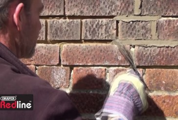 Watch: Draper Tools' Guide to Repointing