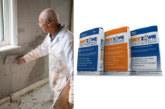 Safeguard Europe's renovation plasters render buildings drier
