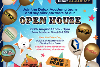 Dulux Academy brings decorating industry back together with 'Open House' event
