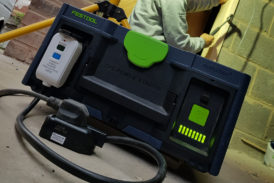Tibby Singh tests out Festool's NEW SYS-PowerStation