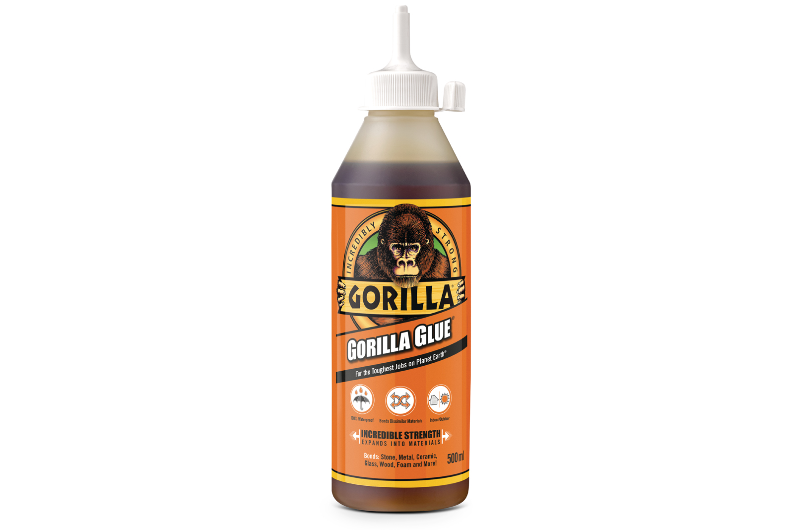 25 bottles of Gorilla Glue to win